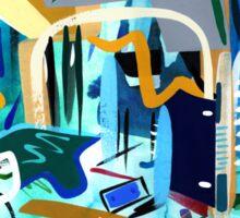 Abstract Interior #31 Sticker