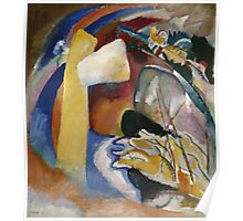 Kandinsky - Study For Painting With White Form Poster