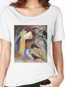 Kandinsky - Study For Painting With White Form Women's Relaxed Fit T-Shirt