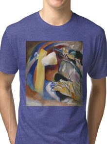 Kandinsky - Study For Painting With White Form Tri-blend T-Shirt