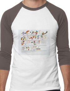 Kandinsky - Succession Men's Baseball ¾ T-Shirt