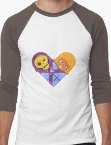 Skeletor & He Man Men's Baseball ¾ T-Shirt