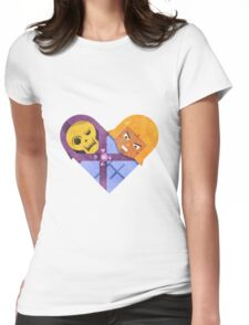 Skeletor & He Man Womens Fitted T-Shirt
