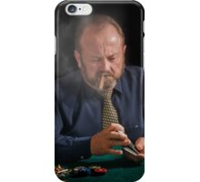 Card shark. Beware iPhone Case/Skin