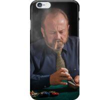 Card shark. Beware iPhone Case/Skin