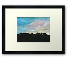 West Hill Cafe at Dusk Framed Print