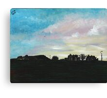 West Hill Cafe at Dusk Canvas Print