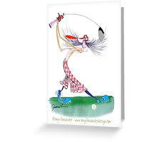 Golf is Great, tony fernandes Greeting Card
