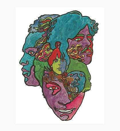 Love - Forever changes Photographic Print