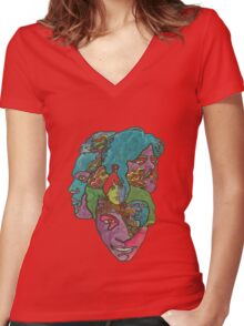 Love - Forever changes Women's Fitted V-Neck T-Shirt