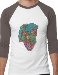 Love - Forever changes Men's Baseball ¾ T-Shirt