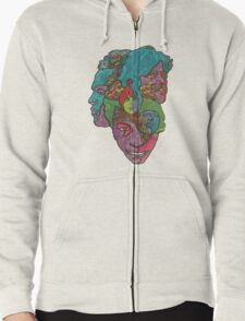 Love - Forever changes Zipped Hoodie