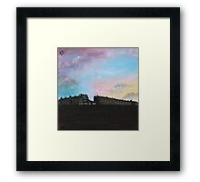 Priory Road at Dusk Framed Print