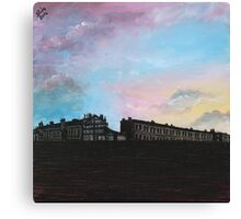 Priory Road at Dusk Canvas Print