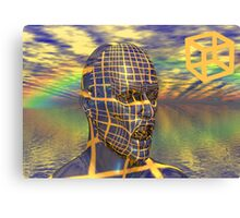 Planet illusion Canvas Print