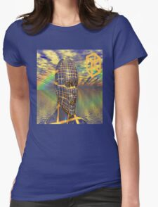 Planet illusion Womens Fitted T-Shirt