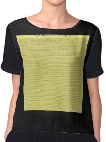Bee Movie Chiffon Top