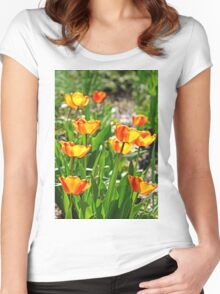 Tulip Bouquet Women's Fitted Scoop T-Shirt