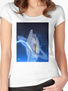 Saturn Rising 2 Women's Fitted Scoop T-Shirt