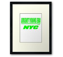 bright young era (jak) Framed Print