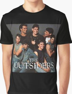 The Outsiders Drama/Teen Film Graphic T-Shirt