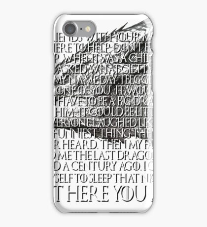 Tyrion Lannister Game Thrones GOT Imp Dragon Speech But Here You Are iPhone Case/Skin