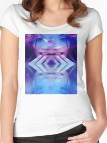 Blue Reflection Women's Fitted Scoop T-Shirt