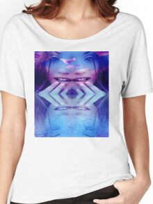 Blue Reflection Women's Relaxed Fit T-Shirt