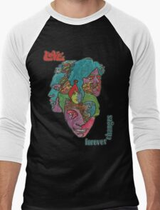 Love - Forever Changes + Logo Men's Baseball ¾ T-Shirt