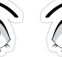 Cute Stylized Eyes female Sticker
