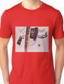 Kandinsky - Violet Orange Unisex T-Shirt