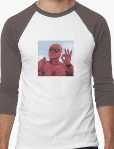Spider-man On Point Men's Baseball ¾ T-Shirt