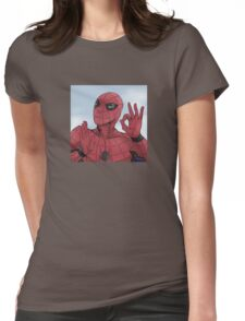 Spider-man On Point Womens Fitted T-Shirt