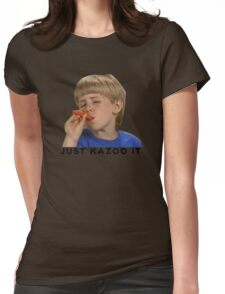Just Kazoo It!  Womens Fitted T-Shirt
