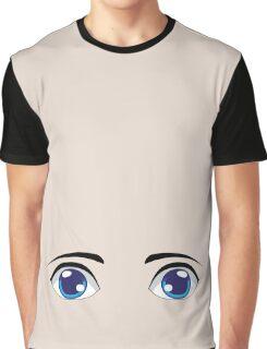 Cute Stylized Eyes male Graphic T-Shirt