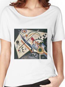 Kandinsky - White Cross Women's Relaxed Fit T-Shirt