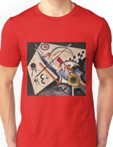 Kandinsky - White Cross Unisex T-Shirt