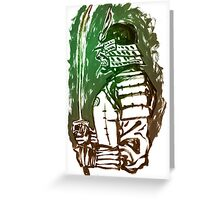 Bushi Greeting Card