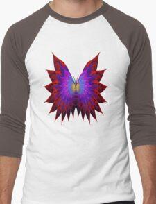 Butterfly Wings Men's Baseball ¾ T-Shirt
