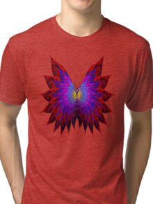 Butterfly Wings Tri-blend T-Shirt