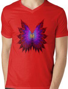 Butterfly Wings Mens V-Neck T-Shirt