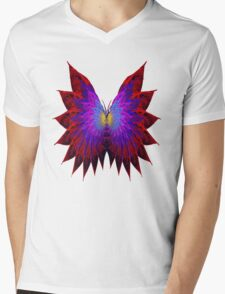 Butterfly Wings Mens V-Neck T-Shirt