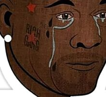 "Birdman ""Put Some Respeck on My Name"" Crying Jordan Meme Sticker"