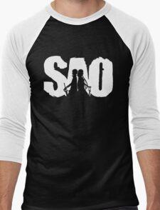 Sword art Men's Baseball ¾ T-Shirt