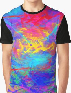 Color Chaos Graphic T-Shirt