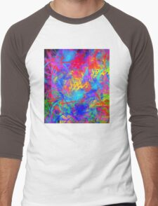 Color Chaos Men's Baseball ¾ T-Shirt