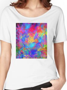 Color Chaos Women's Relaxed Fit T-Shirt