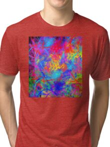 Color Chaos Tri-blend T-Shirt