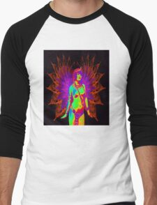 Exotic Angel Men's Baseball ¾ T-Shirt