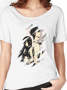 Steins Gate  Okabe And Makise Anime  Women's Relaxed Fit T-Shirt